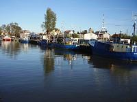 Łeba kanał Chełst
