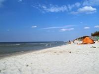 Stilo, szeroka piaszczysta plaża