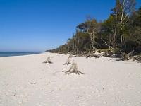 Plaża, Słowiński Park Narodowy