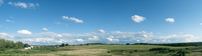 Charbrowo - Łeba Pokoje Gościnne - widok z okna